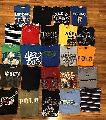 Boys Size 14/16 Fall / Winter Clothing Lot Of 36 Pieces ~ EUC~ Nike, POLO, Etc!