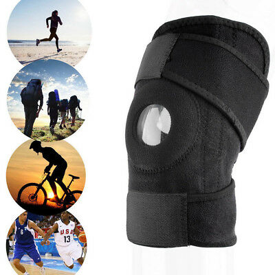 NEW Adjustable Hinged Knee Support Brace Patella Strap Pain Relief