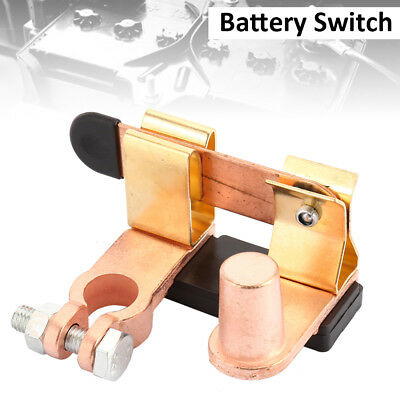 Car Van Boat Battery Isolator Switch Power Cut Off Disconnect Top Terminal