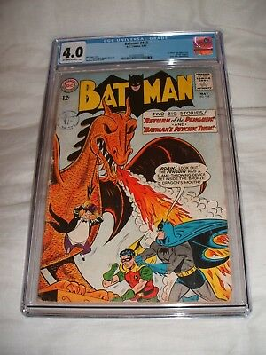 Batman 155 Cgc 4.0 Ow/white Pages 1St Silver Age Penguin Key Issue