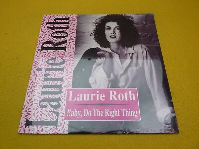 "Laurie Roth ‎– Baby, Do The Right Thing (SEALED) Maxi single 12""  ç"