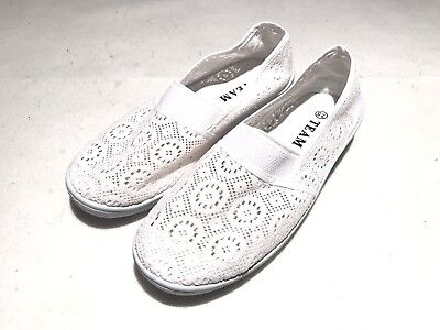 All White Lace Flats For All Occasions & Weddings 100% Brand-NEW! Size 7.5