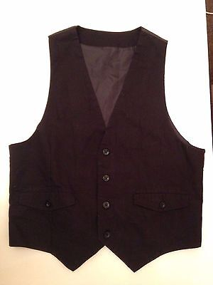 Cotton Blend Redcurrant All Sizes BNWT Maddox Street Knitted Waistcoat