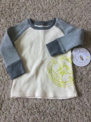 Baby Boys Size 6/9 Months Burts Bees Long Sleeved Shirt. NWT