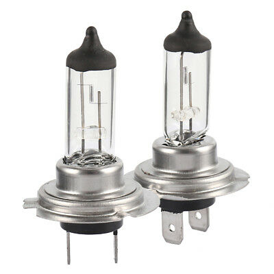 2 x H7 Halogen Car Headlight Bulbs - 55w Replacement Lamps 12v 477 Warranty