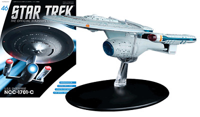 STAR TREK Shuttle TYPE-7 USS ENTERPRISE 1701-D NEU Raumschiffsammlung Eaglemoss
