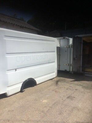 BT Body Box Shed Storage Or Ideal Trailer Lockable Workshop With Gas Hob