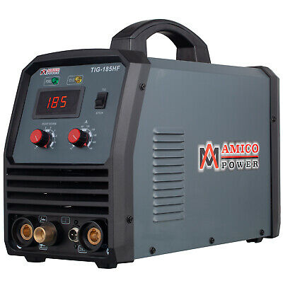 TIG-185 180 Amp HF-Start TIG Torch/Stick/Arc Welder 115/230 Dual Voltage Welding