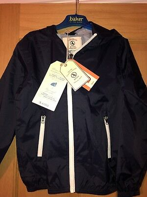 New! 6 years French Designer Waterproof windproof breathable Jacket RRP £36 boys