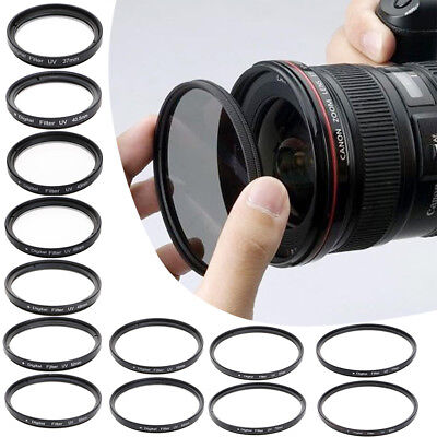 UV Pass Filter 37/40.5/43/46/49/52/55/58/62/67/72/77/82mm Camera Lens Protector