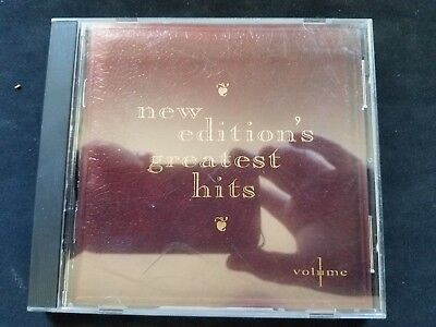 Various Artists : New Editions Greatest Hits, Vol. 1 CD Ships in 24 hours!