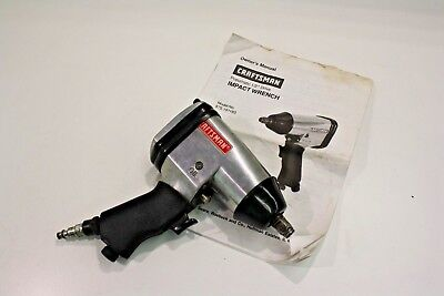 Craftsman 875 191182 Air Pneumatic 1 2 Impact Wrench Driver Gun Euc 25 16 Picclick Uk