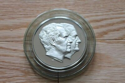 Sterling Silver 1973 Inaugural Proof Medal Nixon Agnew Franklin Mint