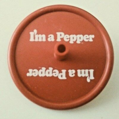 I`m A Pepper Dr Pepper Plastic Top In Never Used Condition