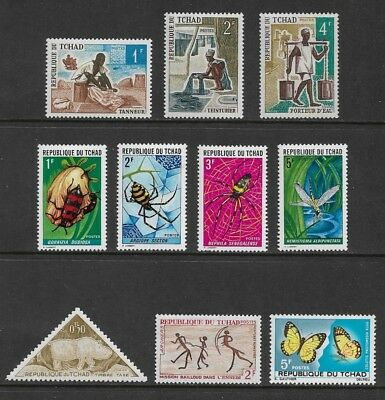 CHAD mixed collection No.5, mint MNH MUH & MH