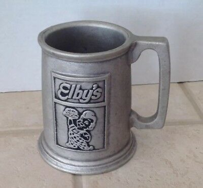 Elby's Big Boy Restaurants 16 Oz. Metal Beer Mug