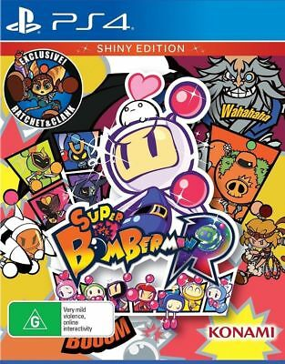 Super Bomberman R Shiny Edition PS4 Playstation 4 Brand New In Stock Brisbane