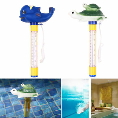 Cartoon Floating Pool Baby Kids Bath Thermometer for Swimming Pools Hot Tub Spa