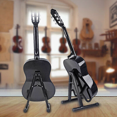 A-Frame Guitar Stand Acoustic Electric Bass Support Foldable Steady Universal US