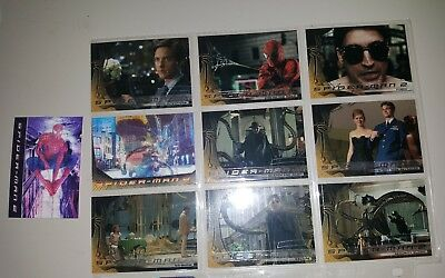 Spiderman 2 Marvel Trading Cards