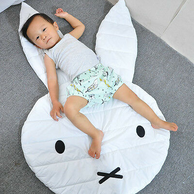 Cloth Rabbit Shaped Floor Mat Baby Child Infant Play Crawling Blankets Ma.UK