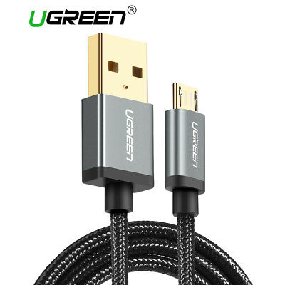 UGREEN 5V2A Micro USB Braided Wire Charging Sync Data Cable for Samsung Andriod