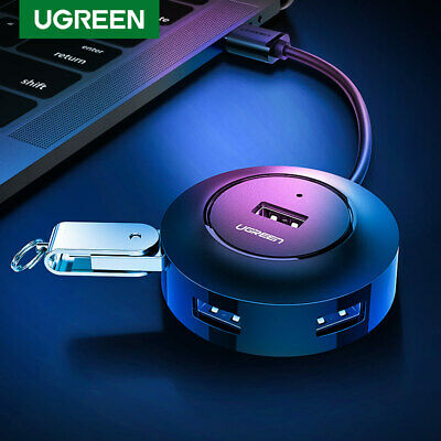 UGREEN USB HUB 4Port Host OTG Hub With Micro USB Power Interface For Laptop PC
