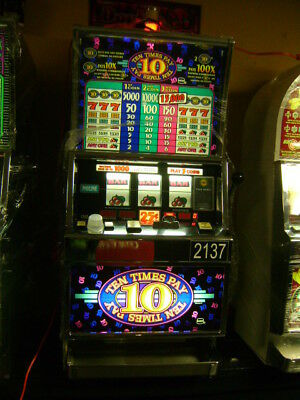 Igt  Slot Machine Ten Times Pay $599.99