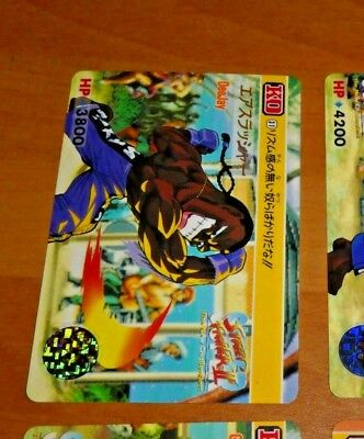 KO STREET FIGHTER II 2 TRADING CARDDASS CARD REG CARTE 77 GUILE JAPAN 1993 **