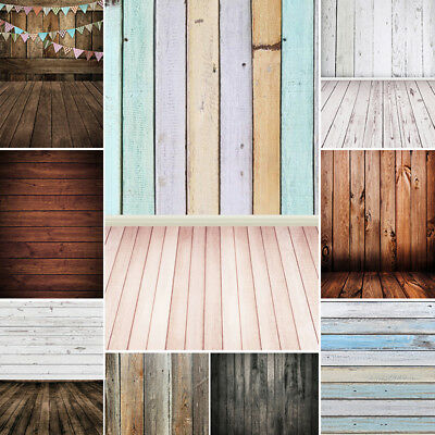 Vintage Plank Vinyl Photography Backdrop Studio Photo Background 5x7/6x7/10x10Ft