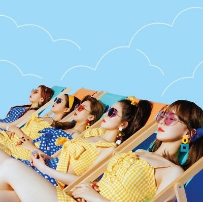 K-POP RED VELVET Summer Mini Album [Summer Magic] Normal Ver. CD+Booklet+Card