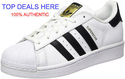 9c6bbd34c7de New Adidas Youth Originals Superstar Foundation Gs  C77154  White black  white