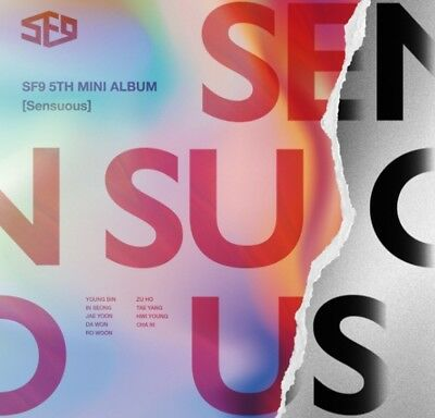 K-POP SF9 5th Mini Album [Sensuous] Exploded Emotion Ver CD+Booklet+3p Photocard