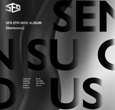 K-POP SF9 5th Mini Album [Sensuous] Hidden Emotion Ver CD+Booklet+3p Photocard