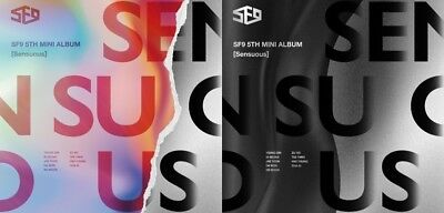K-POP SF9 5th Mini Album [Sensuous] Random Ver. CD + 72p Booklet + 3p Photocard