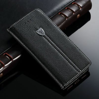 New Luxury Magnetic Flip Wallet Leather Case Stand Cover for Apple iPhone Models