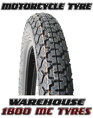 Dunlop K70 3.25-19 (54P) Classic Vintage Sports Motorcycle Tyre 325-19