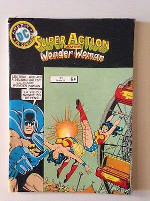 Super Action Avec Wonder Woman N°6 1980 // Aredit