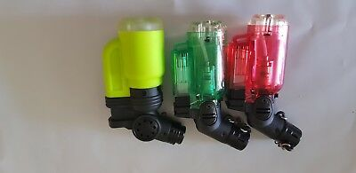1x Random color Refillable Lighter Butane Gas Jet Flame Torch Welding Camping
