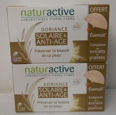 Naturactive - Doriance - Solaire Anti-Age 2X60 Capsules - Lot X 2