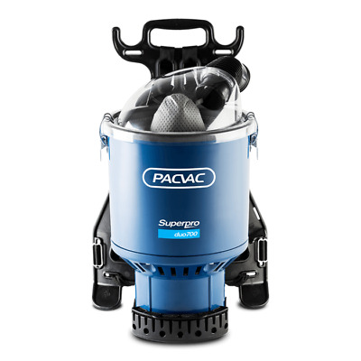 Pacvac Superpro Duo 700 Commercial Backpack vacuum cleaner