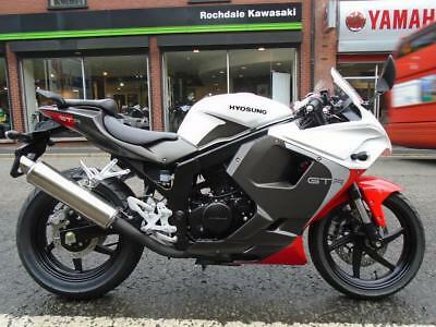 Hyosung GT125R PRE REG WITH LOW RATE FINANCE CALL TODAY