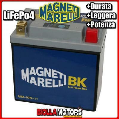 MM-ION-11 BATTERIA LITIO YB14L-A2 APRILIA Tuareg Wind 350 1987-1988 MAGNETI MARE
