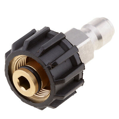 Quick Release Female Connector For Pressure Washer 14mm M22 x3/8'' Male Plug