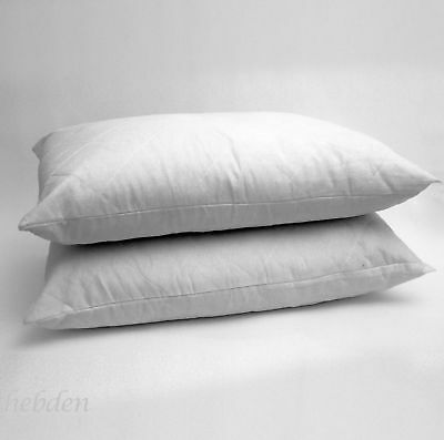 Hollow Fiber Jumbo Pillows Quilted Extra Filled Soft Firm Bed Pack of 2 4 8 New