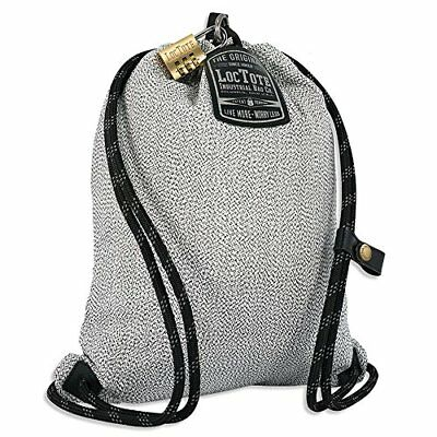 LOCTOTE Flak Sack SPORT - Lightweight Theft-Resistant Drawstring Backpack |