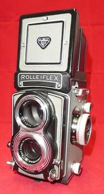 Rolleiflex T Type 1 Tessar 75mm f3.5 Lens - Grey