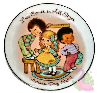 "Vintage AVON Mother's Day 1984 Collectible Porcelain 5"" Plate Made in Japan"