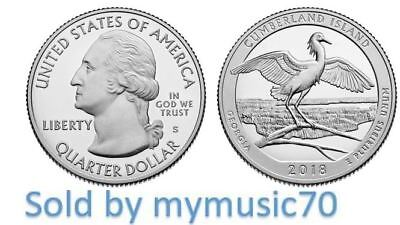 2018 S Cumberland Island National Seashore Quarter (GA)  ** NOW ON HAND **