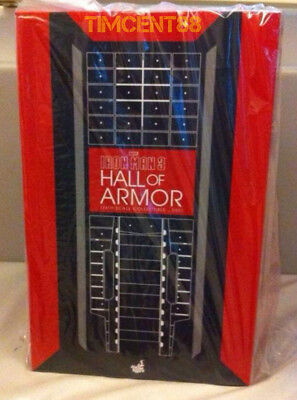 Ready! Hot Toys DS001-A Diorama Hall of Armor + 7 Iron Man Stickers Re-release